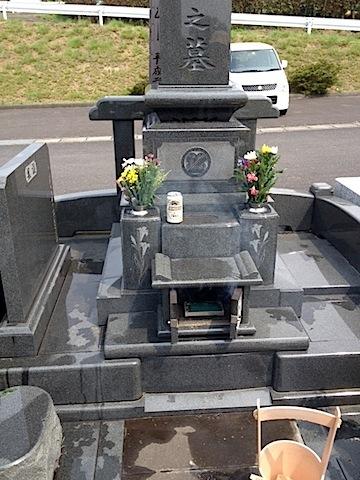 0813墓参り