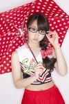 AKB48 峯岸みなみ セクシー チアガール コスプレ メガネ おへそ 傘 高画質エロかわいい画像29