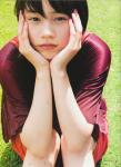 能年玲奈 セクシー 頬杖 顔アップ カメラ目線 唇 体育座り ショートヘア 女優 顔射待ち ぶっかけ用オナペット 高画質エロかわいい画像4
