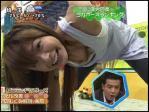 八田亜矢子 セクシー 胸チラ ノーブラ ヨガポーズ ストレッチ キャプチャー ハプニング 前屈み 高画質コラ エロかわいい画像