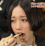 Perfume セクシー 食事顔 口開け 舌 顔アップ 困り顔 おでこ 高画質エロかわいい画像2