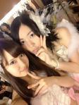SKE48 松井珠理奈 AKB48 永尾まりや セクシー ピース 顔アップ カメラ目線 楽屋 衣装 高校生アイドル 高画質エロかわいい画像4