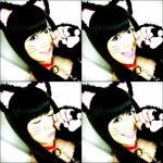 AKB48 佐藤すみれ セクシー 猫耳 コスプレ 口開け 舌 笑顔 カメラ目線 顔アップ エロかわいい画像13