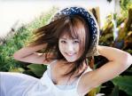 浜田翔子 セクシー 脇見せ ワンピース 笑顔 顔アップ 爽やか ぶっかけ用オナペット写真 おっぱいの谷間 高画質エロかわいい画像1