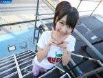 AKB48 柏木由紀 セクシー ダブルピース カメラ目線 上目遣い 笑顔 壁紙サイズ 顔射用ぶっかけ用オナペット写真 高画質エロかわいい画像50