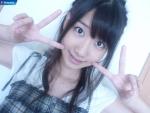 AKB48 柏木由紀 セクシー ダブルピース カメラ目線 顔アップ 壁紙サイズ 顔射用ぶっかけ用オナペット写真 高画質エロかわいい画像51