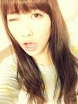 元AKB48 仁藤萌乃 セクシー ウインク 口開け 舌 顔アップ カメラ目線 自撮り 顔射用ぶっかけ用オナペット写真 高画質エロかわいい画像23