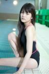 AKB48 入山杏奈 セクシー ハイレグ競泳水着 太もも プール 高画質エロかわいい画像9