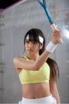 AKB48 入山杏奈 セクシー テニスウェア コスプレ おへそ 高画質エロかわいい画像11