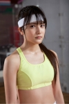 AKB48 入山杏奈 セクシー テニスウェア コスプレ 汗 濡れている カメラ目線 高画質エロかわいい画像12
