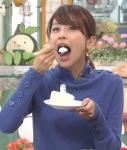 加藤綾子 セクシー 口開け 食事顔 顔アップ フジテレビ 女子アナウンサー 顔射用ぶっかけ用オナペット 高画質エロかわいい画像31
