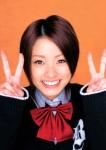 上戸彩 セクシー ダブルピース 笑顔 顔アップ カメラ目線 ショートヘア 女子高生 高画質エロかわいい画像10