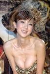 ほしのあき セクシー ドレス 巨乳おっぱいの谷間 エロかわいい画像36