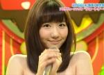 AKB48 柏木由紀 セクシー マイク握り 顔アップ カメラ目線 ソロ活動 地上波キャプチャー 高画質エロかわいい画像55