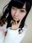 SKE48 柴田阿弥 セクシー ウインク カメラ目線 顔アップ アヒル口 ぶりっ子ポーズ 高画質エロかわいい画像5