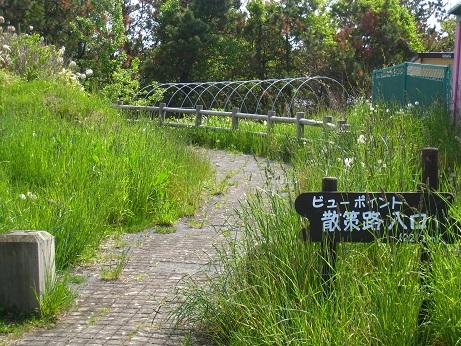 遊歩道入口2