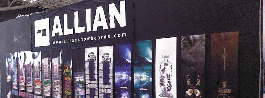 Allian snowboards