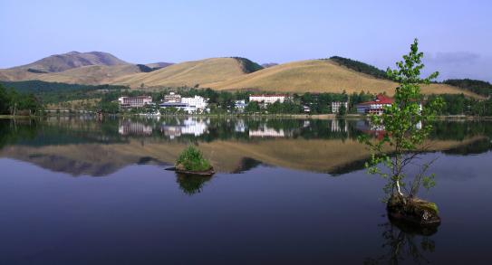 リゾート地・白樺湖