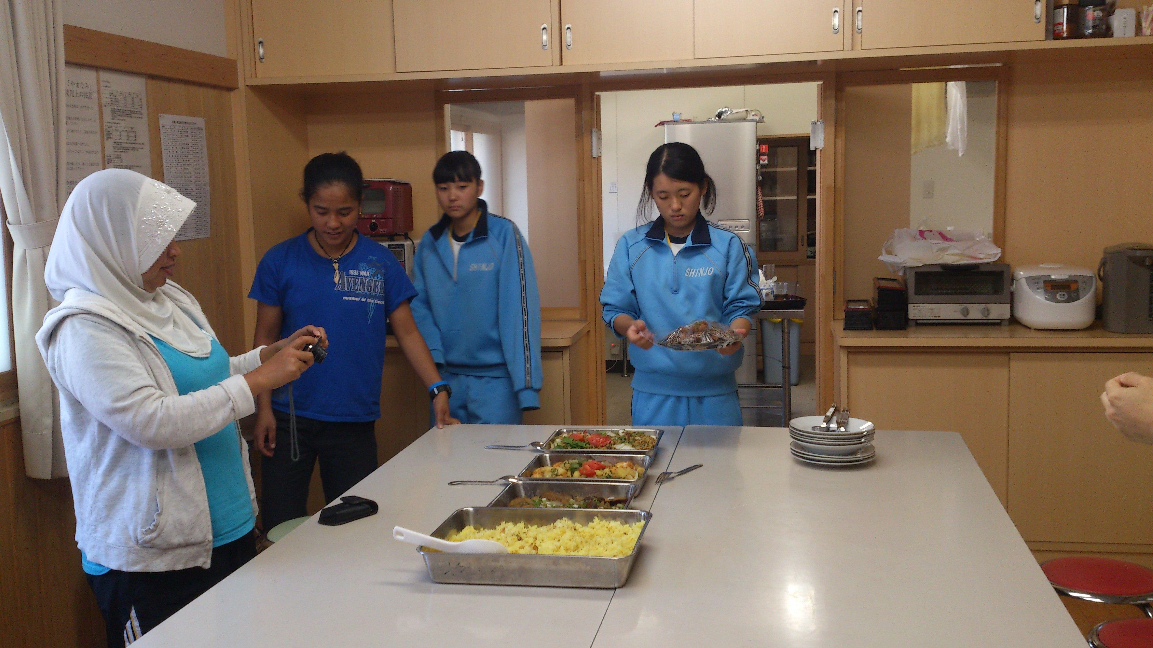 インドネシア料理を作る