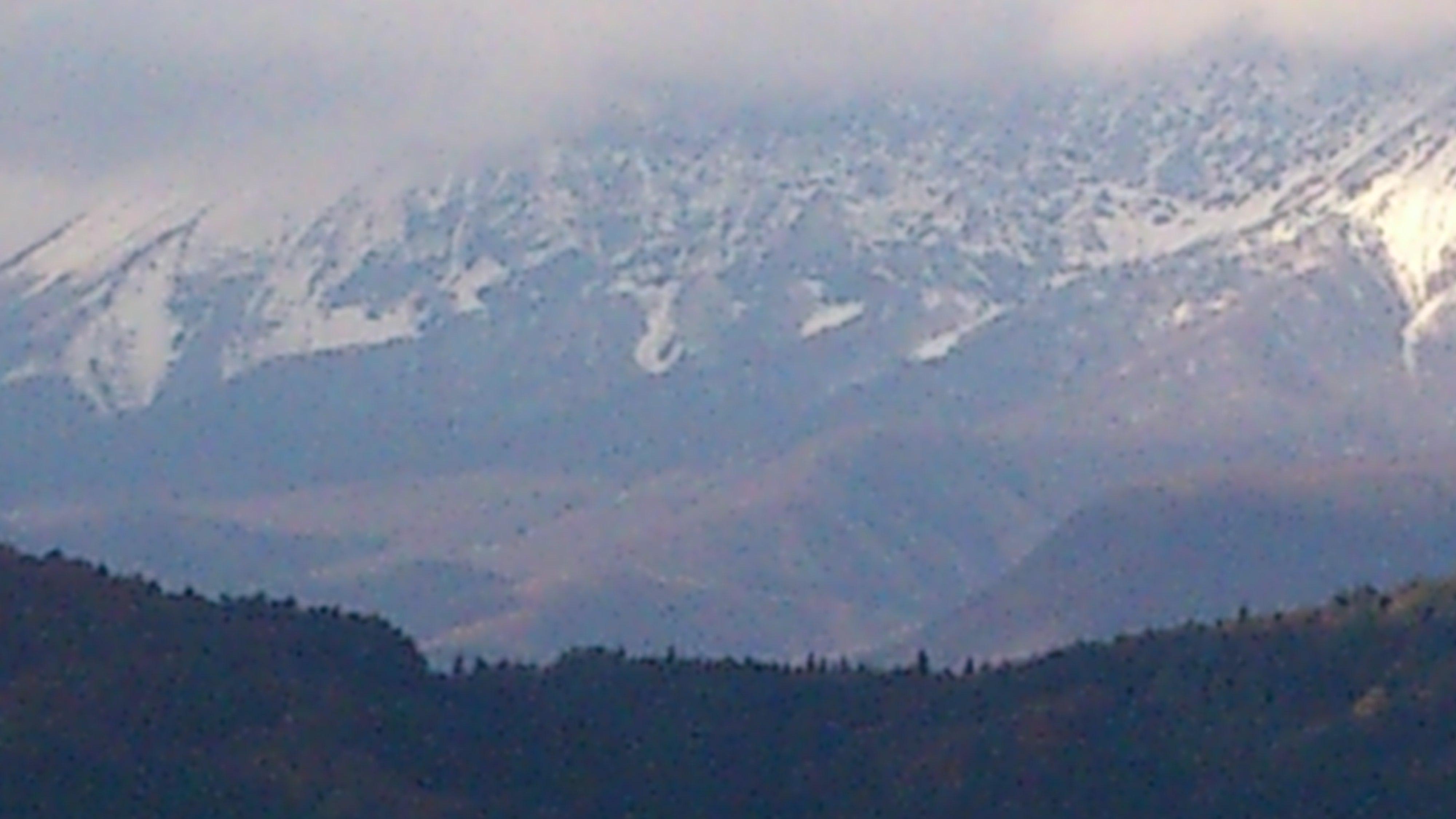 2013初雪大山