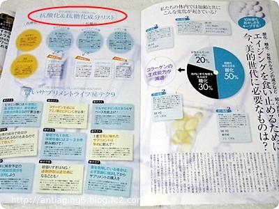 美的2013年11月号 「老けない女のサプリメント&ドリンク」特集