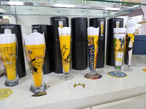 リッツェンホフのビールグラス