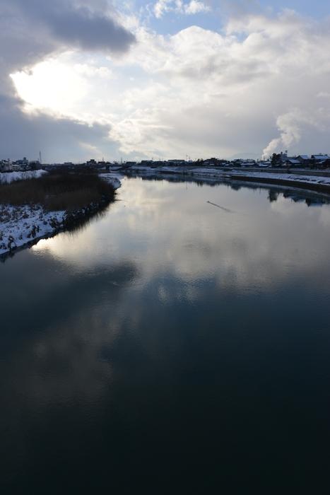 冬の川-4