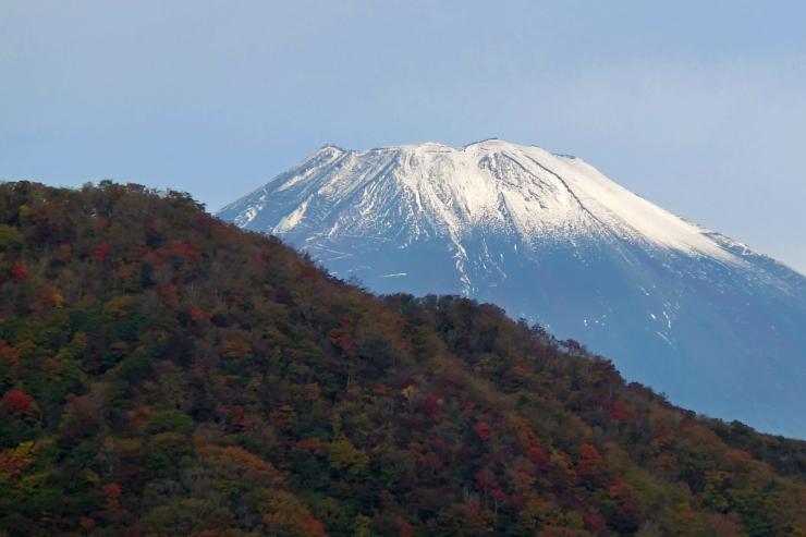 箱根から見た富士