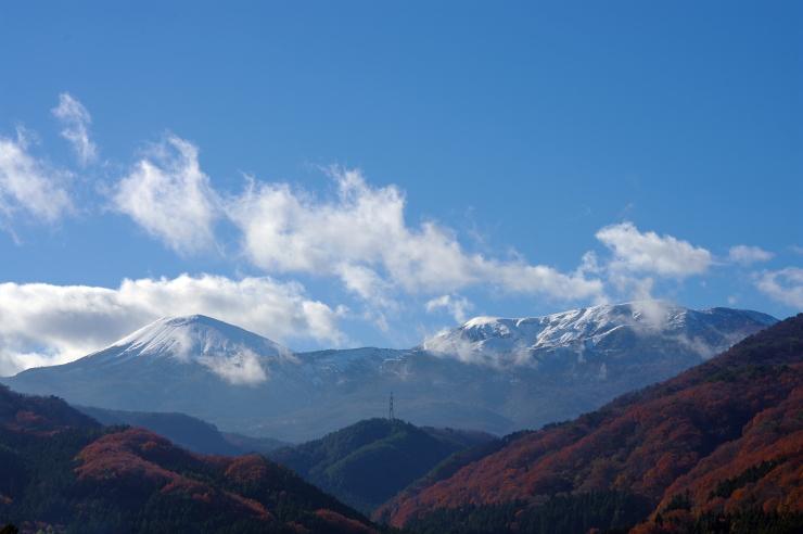 今日午後の吾妻山