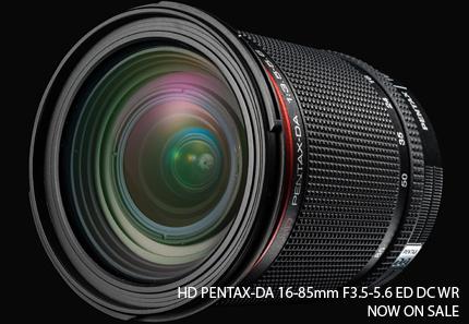 PENTAX DA 16-85mm