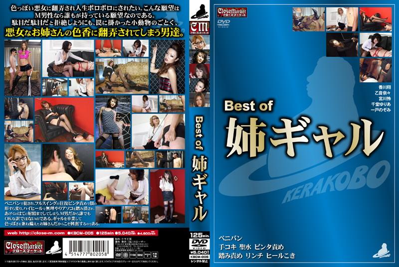 Best of 姉ギャルのDVDジャケット画像