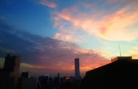 夕焼け2013年7月R