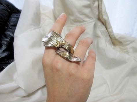 フリーサイズのリング 013