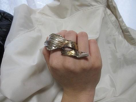 フリーサイズのリング 011