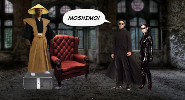 The Matrix Retold by Mom