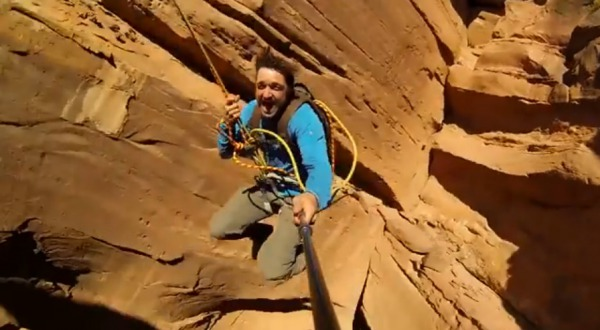 Worlds Most Insane Rope Swing Ever!!! - Canyon Cliff Jump