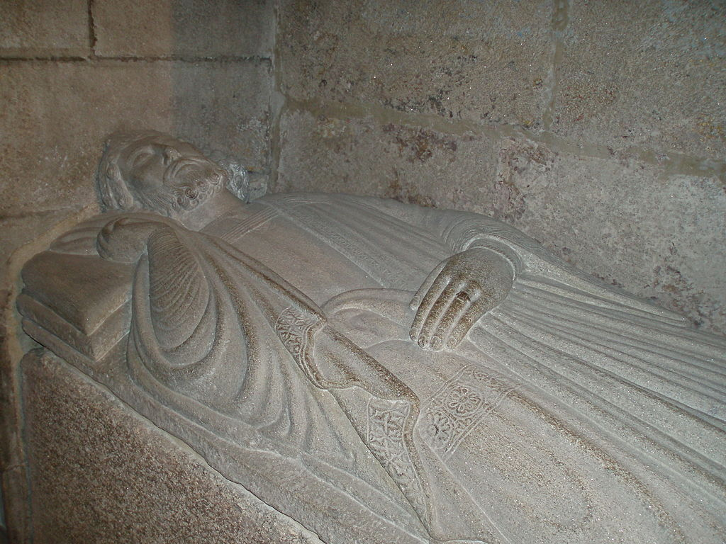 Sepulcher of king Ferdinand II (d. 1187), in the Royal Pantheon of the cathedral
