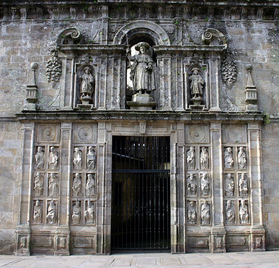 免罪の門(Puerta Santa o Puerta del Perdón)