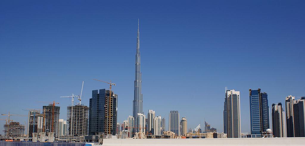 世界で最も高い建造物であるブルジュ・ハリーファ