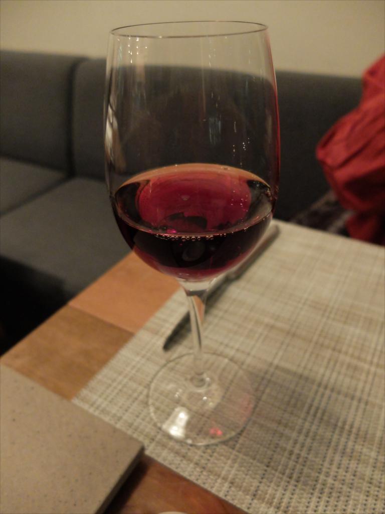 追加でワインも