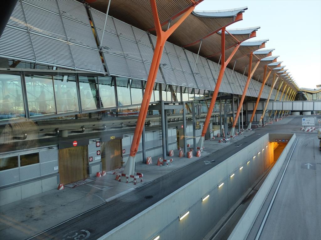 マドリード国際空港の様子_1