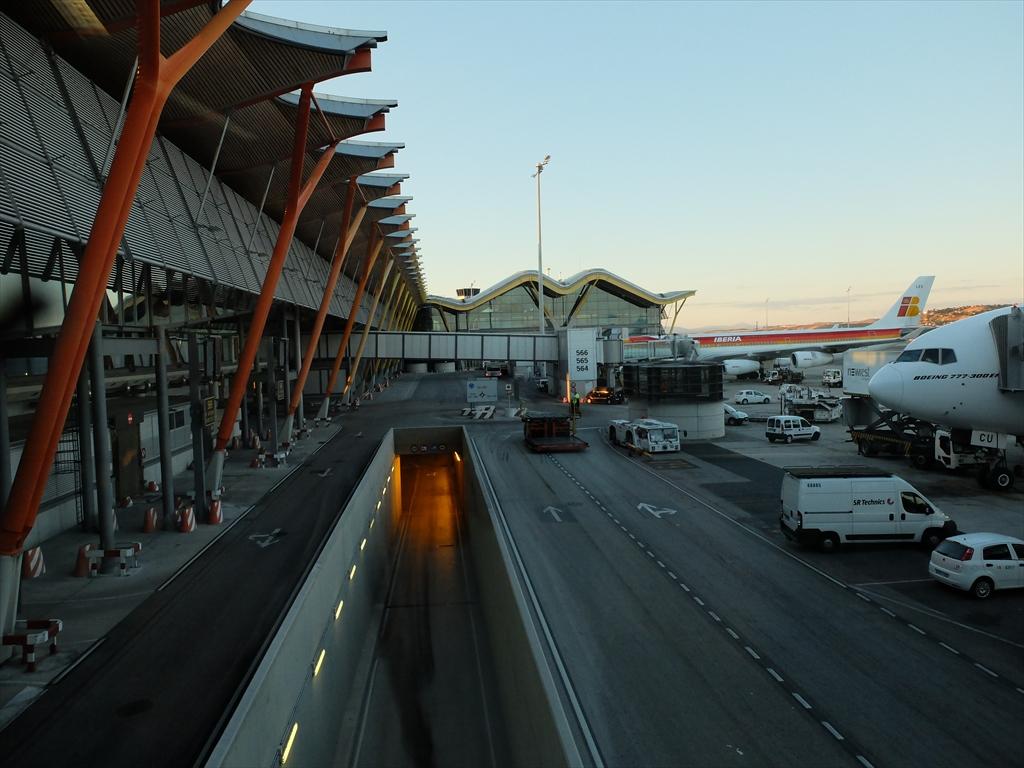 マドリード国際空港の様子_2
