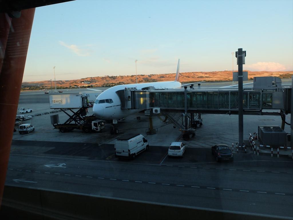 マドリード国際空港の様子_3