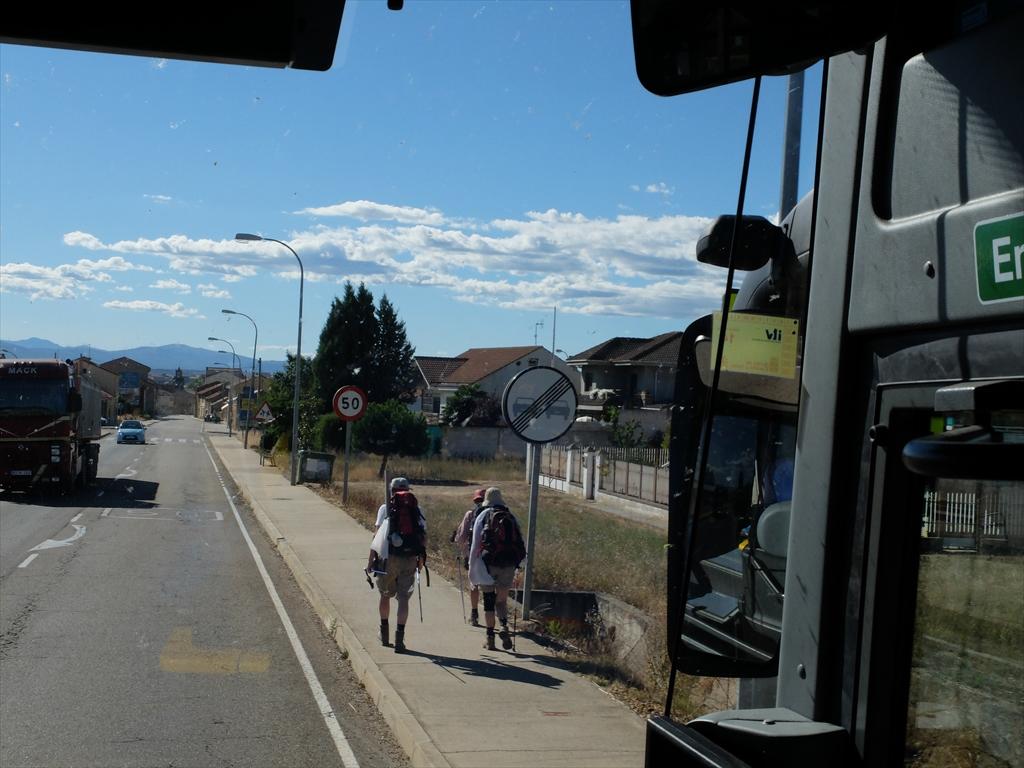 ベセレアへの道中_2_巡礼者たちが巡礼の道を歩いていた