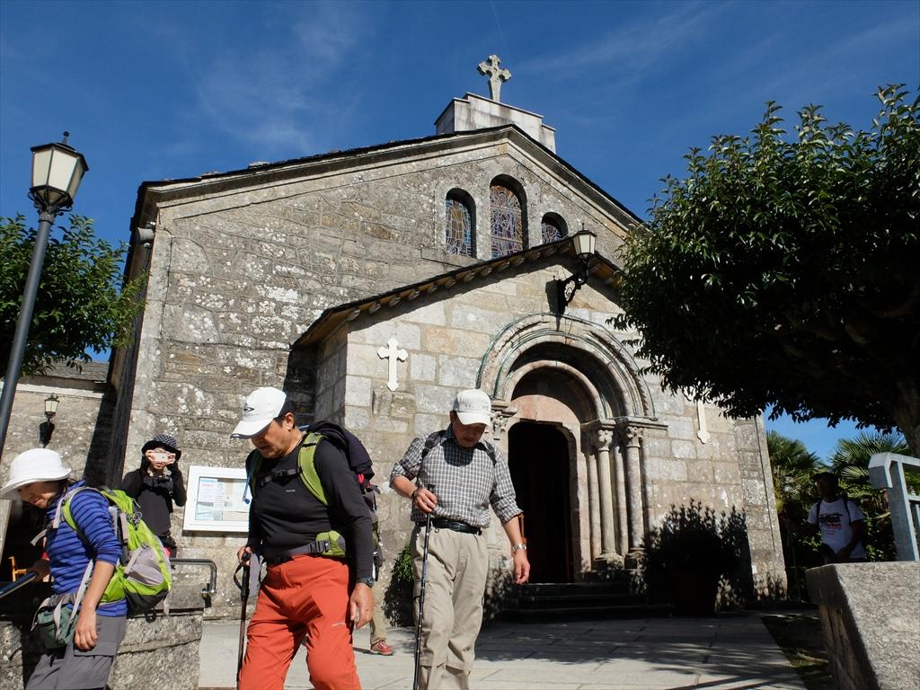 サン・ティルソ教会を後にする_1
