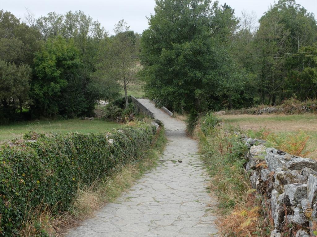 レボレイロの出口にある中世の石橋_3