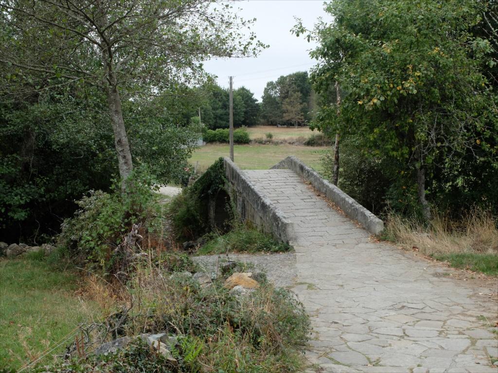 レボレイロの出口にある中世の石橋_5