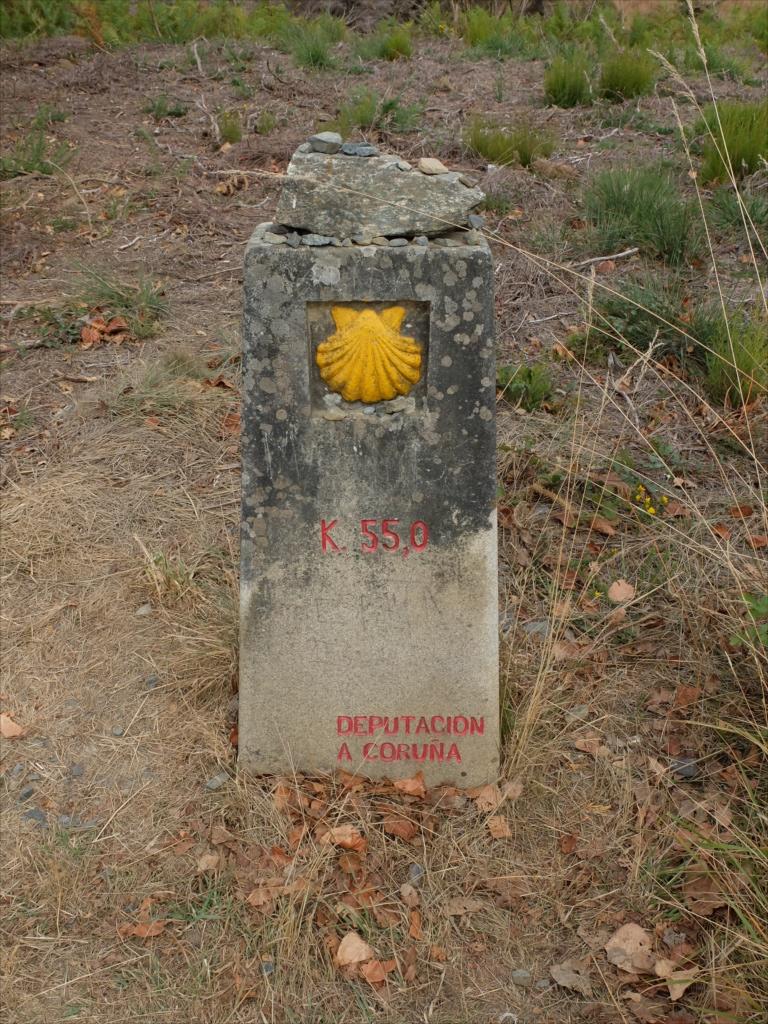 ア・コルーニャ県に変わって、残りは55km