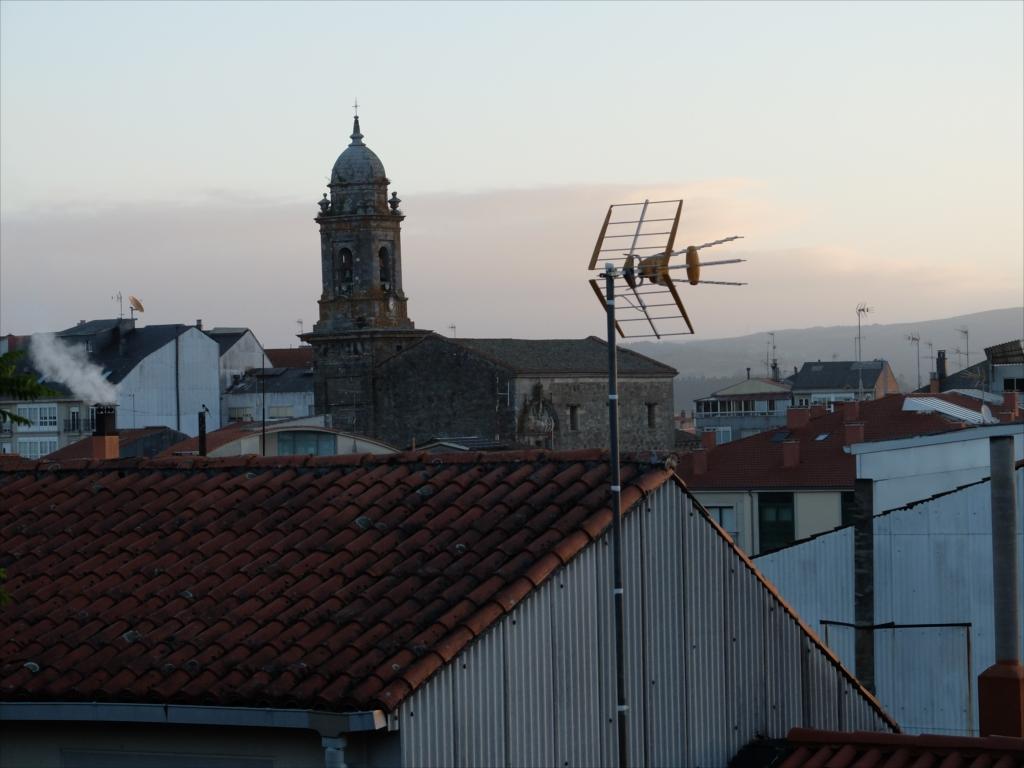 メリデ郊外の高台にて日の出を見る_2