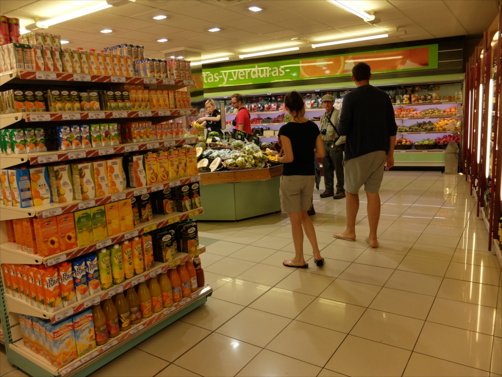 スーパーマーケットの様子_1